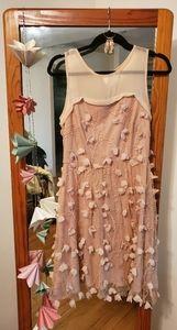 Eva Franco flower petal dress with free jewelry